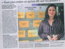 Article du Courrier de l'Ouest du 18/05/2018