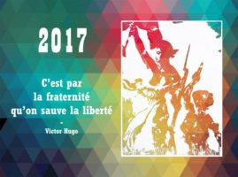 L'association Graine de Citoyen vous souhaite une année 2017 fraternelle
