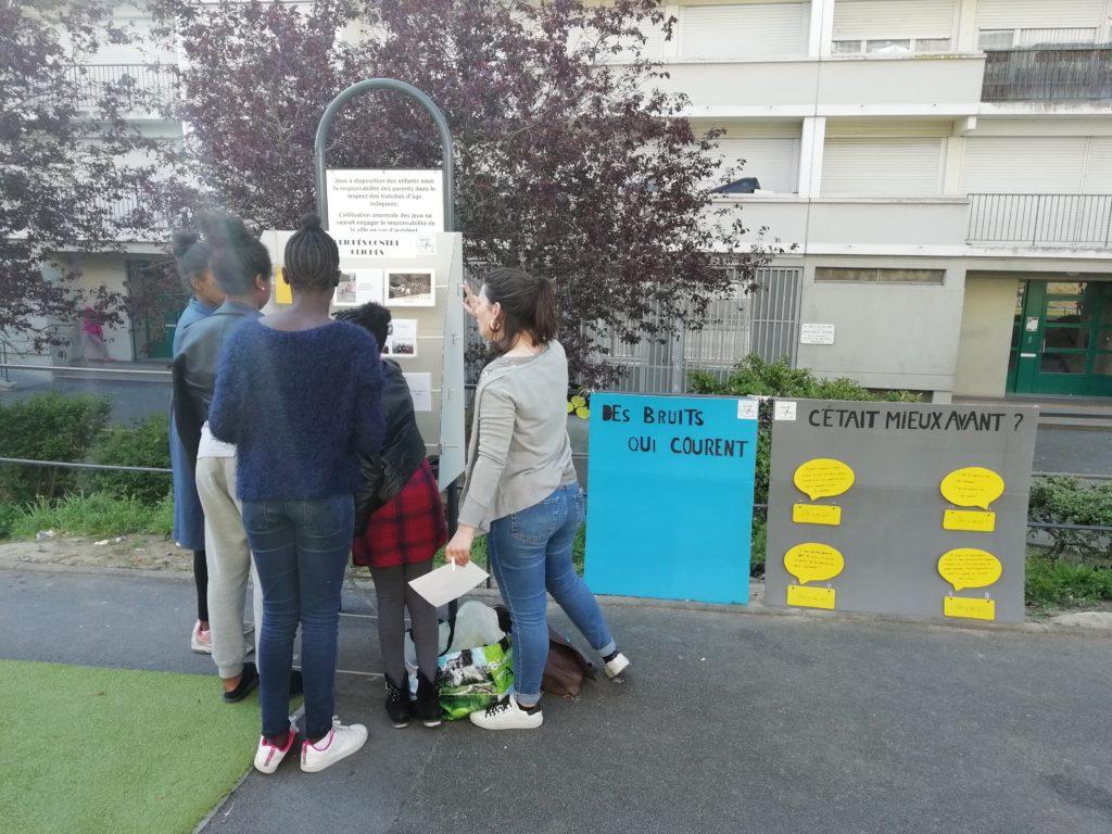 « Si on écoutait les jeunes » dans le quartier Savary