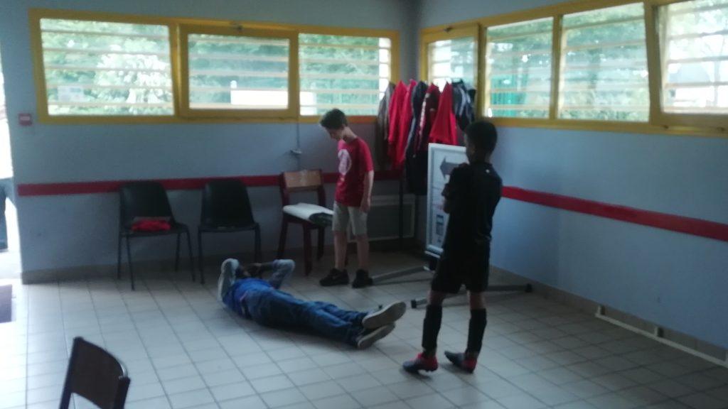 Formation des jeunes du Sporting Club Angevin au fair-play